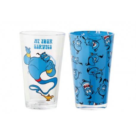 Disney - Pack de 2 verres Génie d\'Aladdin