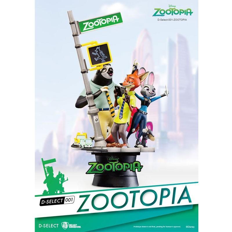Disney - Diorama Zootopie
