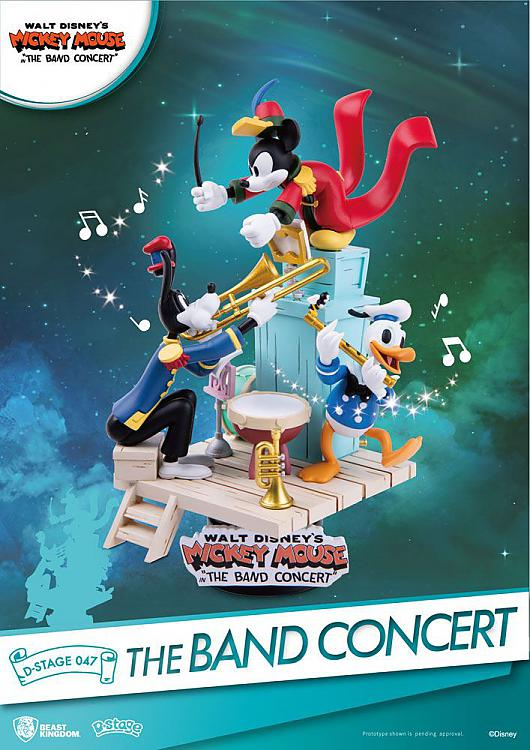 Disney - Diorama Mickey Band Concert