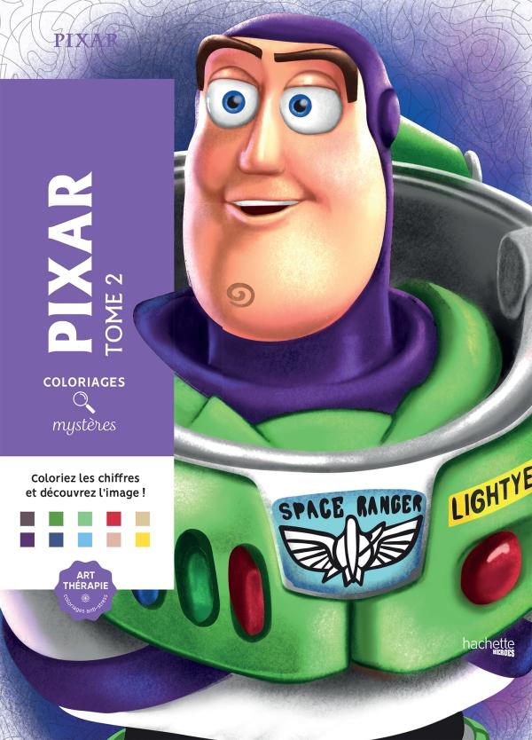 Coloriages mystères Pixar Tome 2