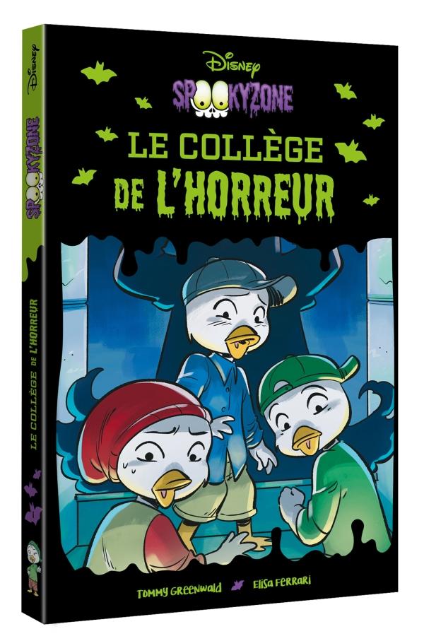 Disney - Spookyzone - Le Collège de l\'horreur