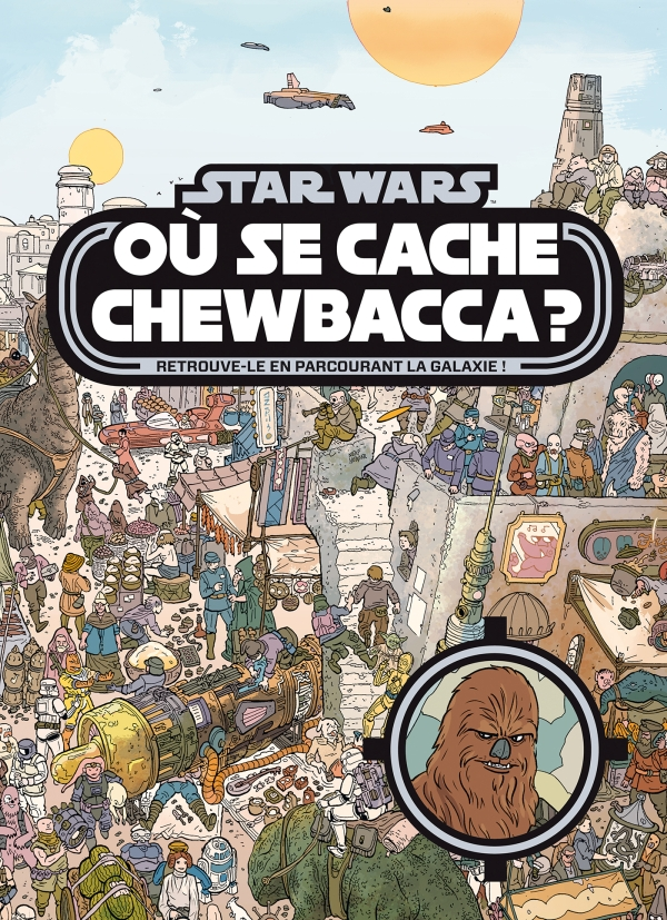 Où se cache Chewbacca?
