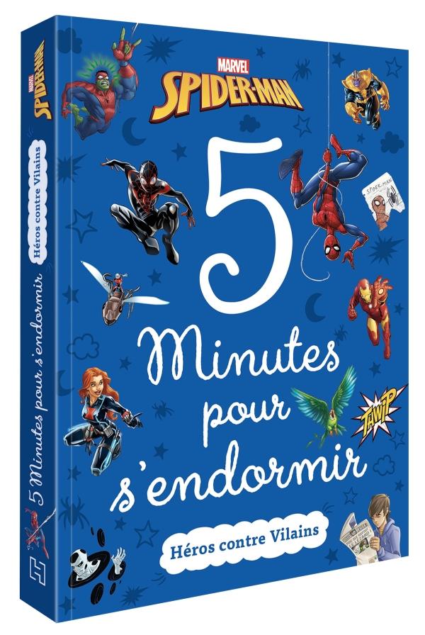 5 minutes pour s\'endromir Héros Marvel