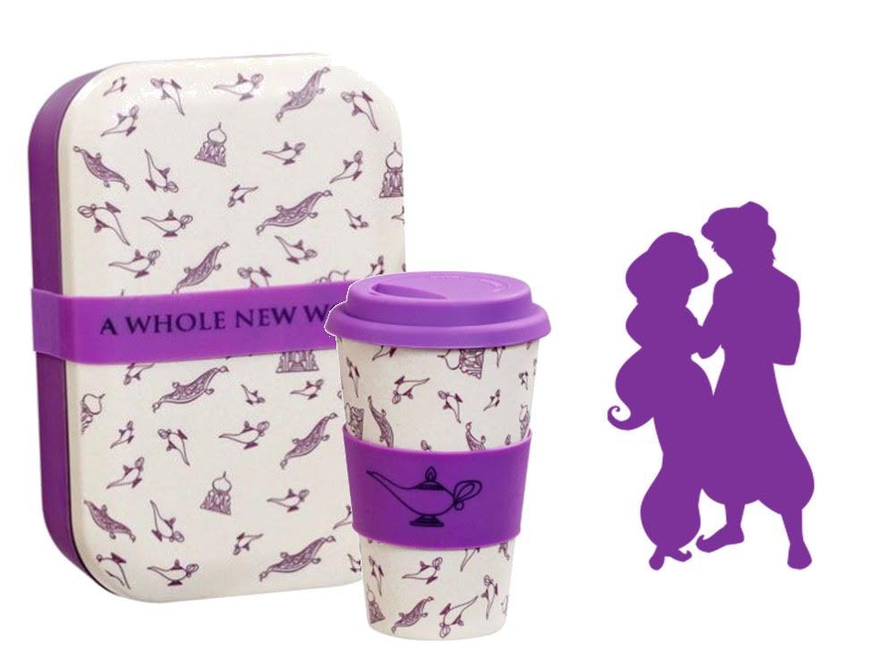 Lot Lunch Box + Mug Aladdin A whole new world