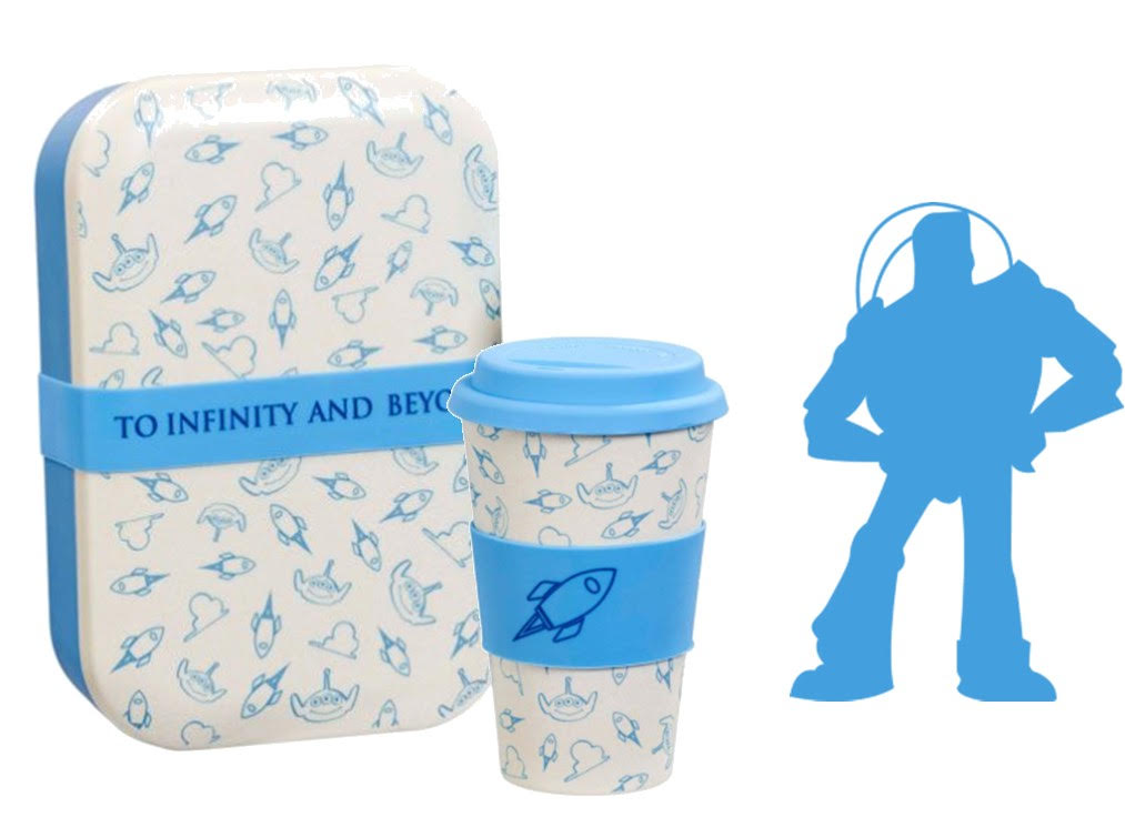 Lot Lunch Box + Mug Toy Story To infinity and Beyond