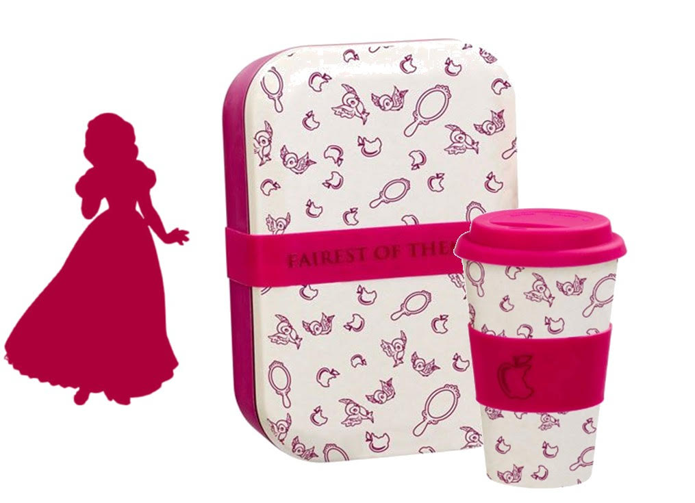 Lot Lunch Box + Mug Blanche Neige \'Fairest of them all