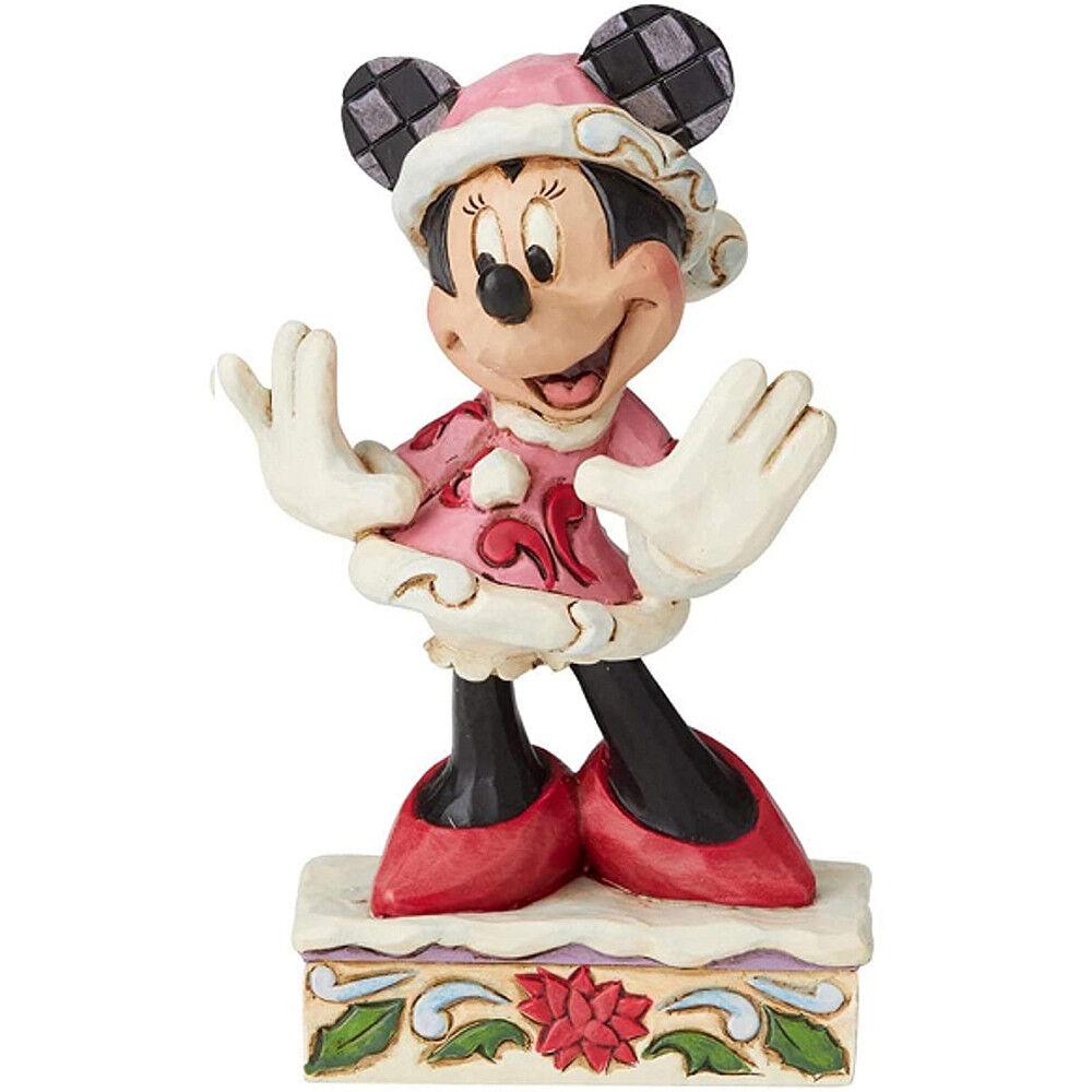 Disney Traditions - Minnie en robe de Noël
