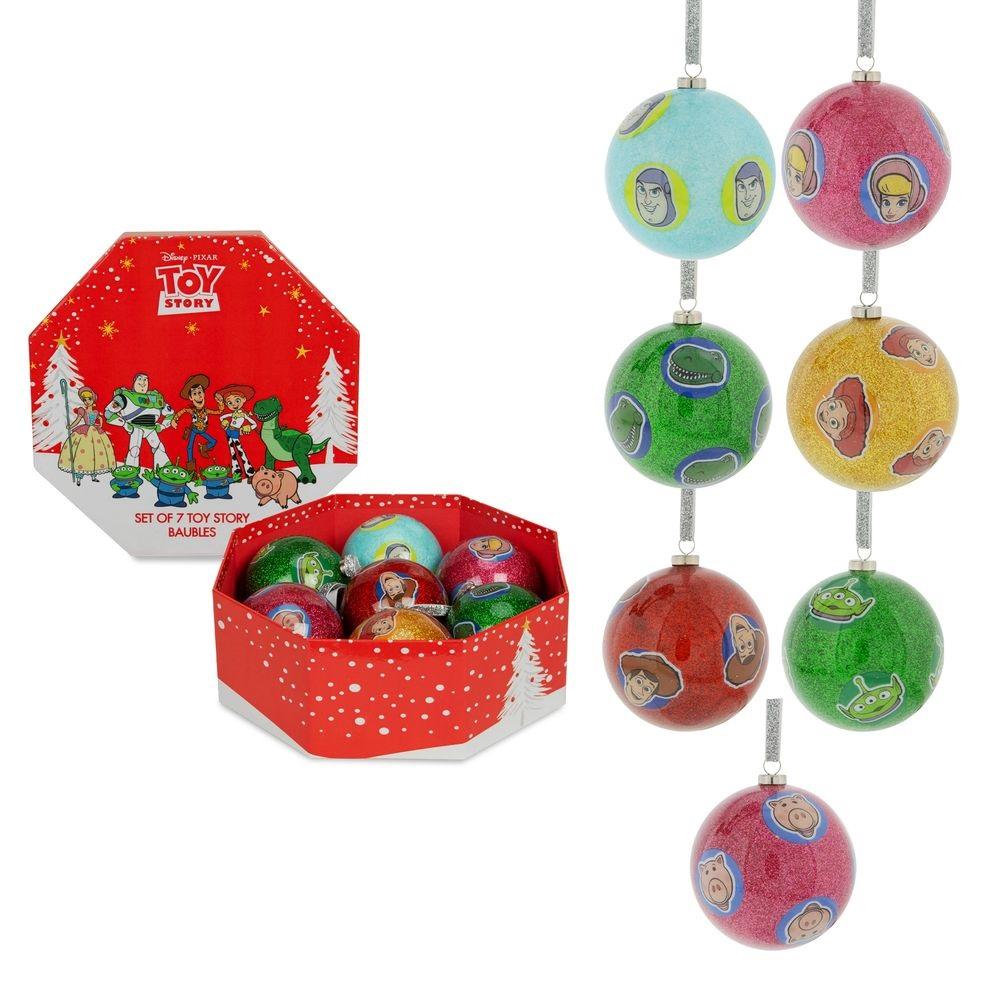 Coffret de 7 boules de Noël Toy Story