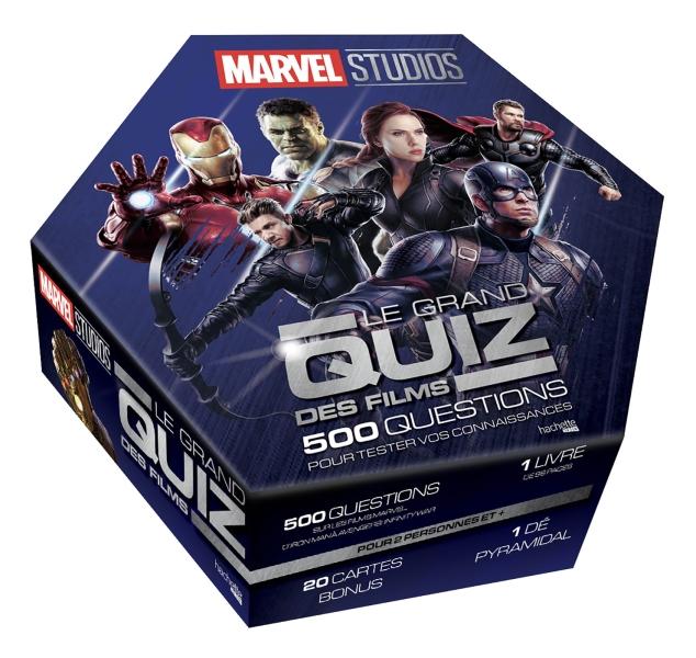 Marvel - Le grand quiz des films