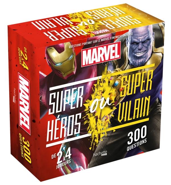 Marvel - Boite Super-Héros ou Villains