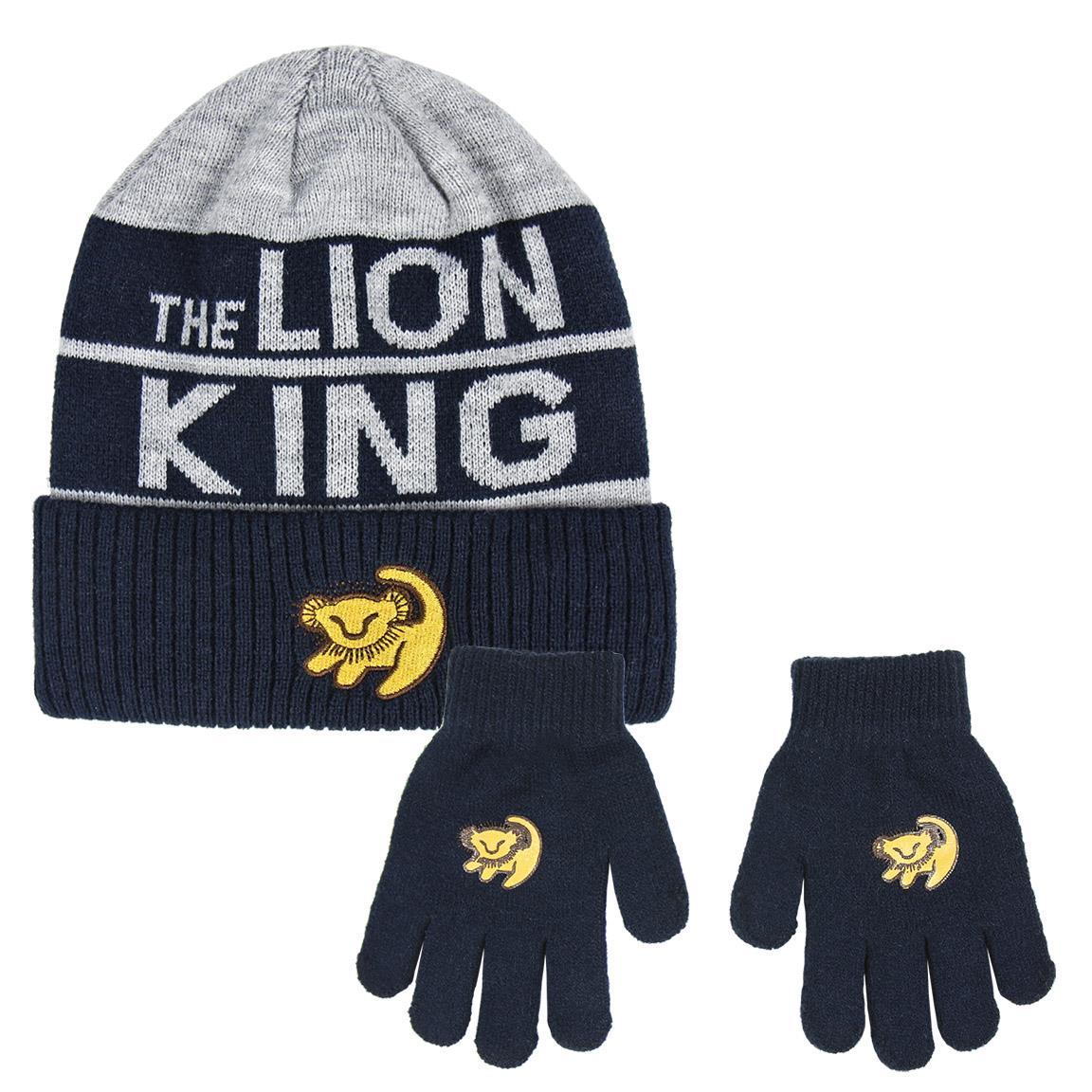 Ensemble Bonnet et gants Roi Lion