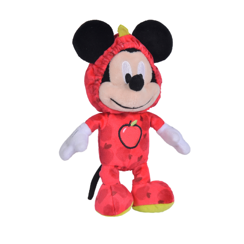 Peluche Mickey Pomme rouge