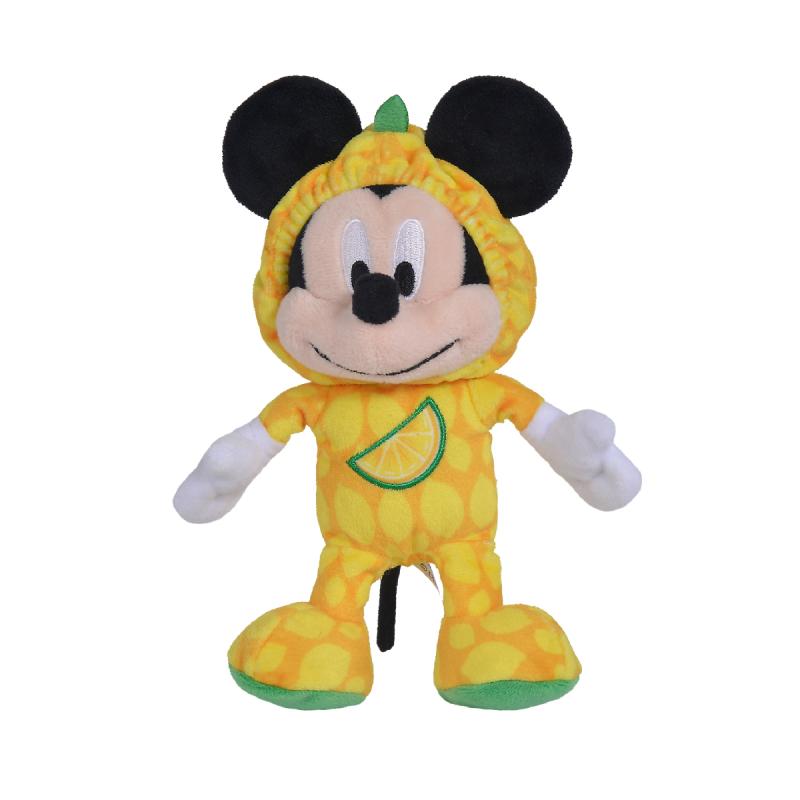 Peluche Mickey citron 15cm