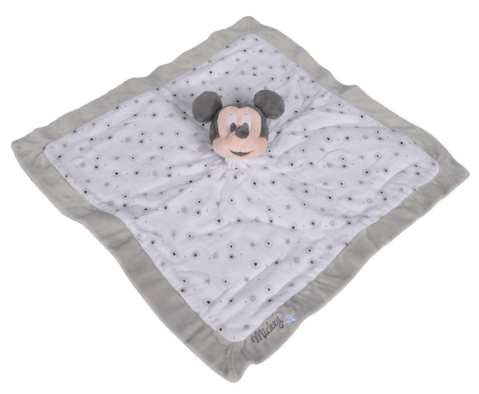 Doudou plat Mickey 40cm