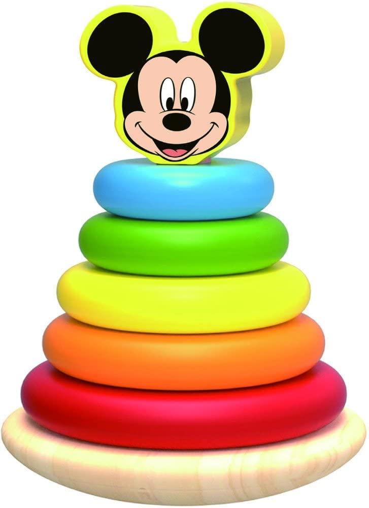Jouet à empiler en bois Mickey