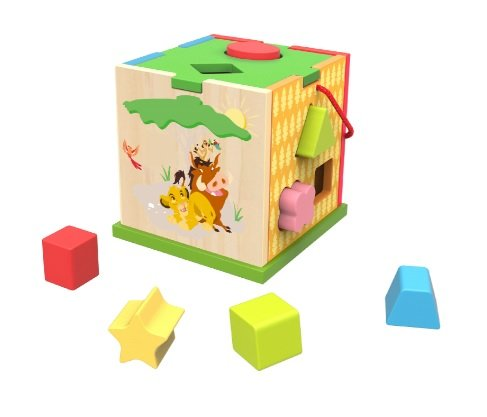 Cube d\'apprentissage Le Roi Lion