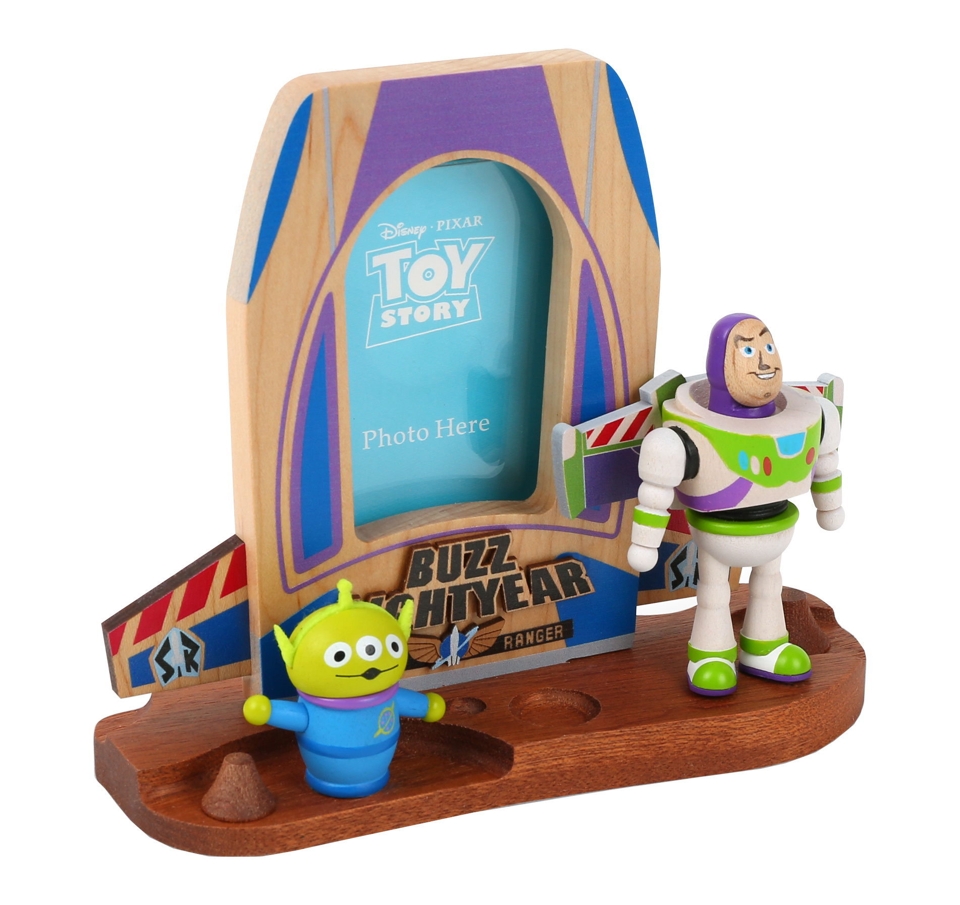 Cadre photo Toy Story Buzz & Alien