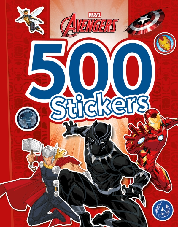 Avengers - 500 Stickers
