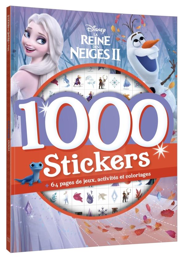 Disney - 1000 Stickers La Reine des Neiges 2