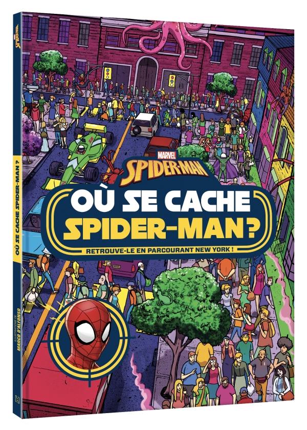Où se cache Spiderman?