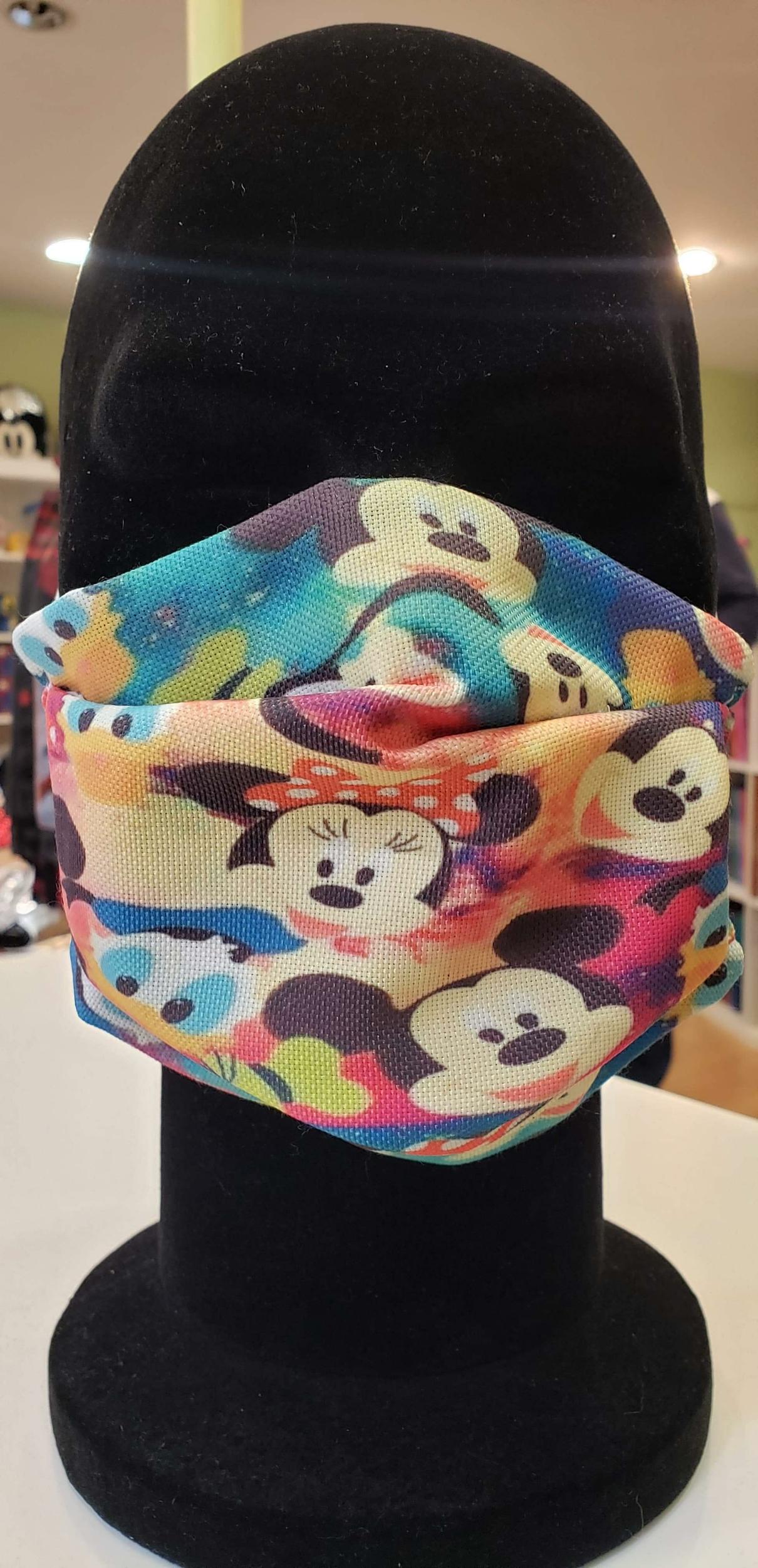 Masque tissu enfant Covid - Mickey & Friends