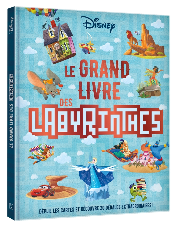Disney - Le grand livre des labyrinthes