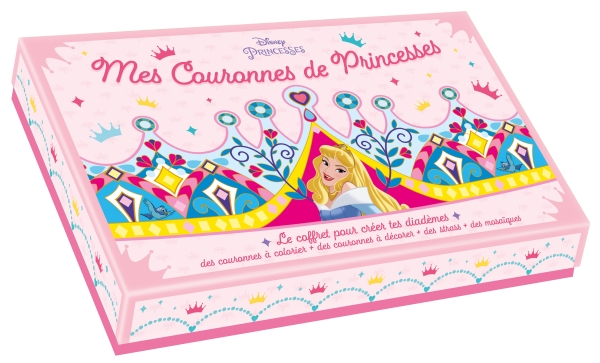 Disney - Coffret couronnes de Princesses