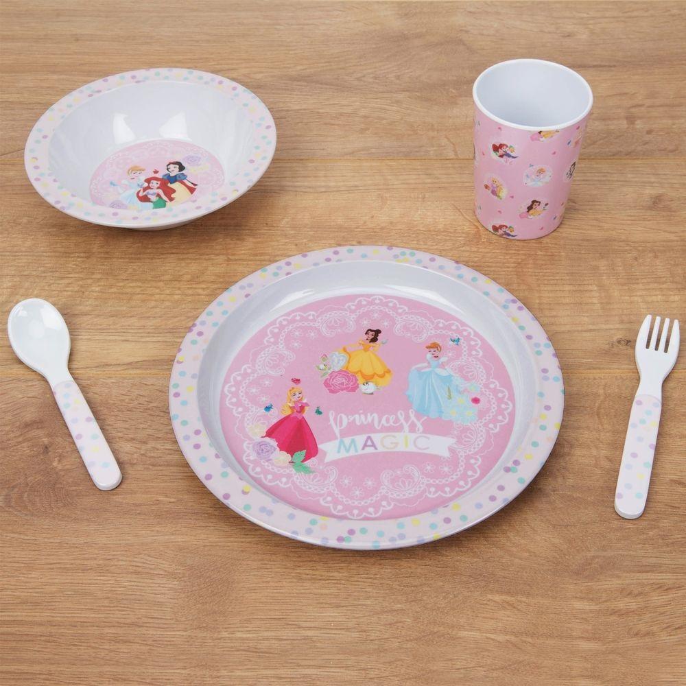 Coffret Repas 5 pièces Princesses Disney