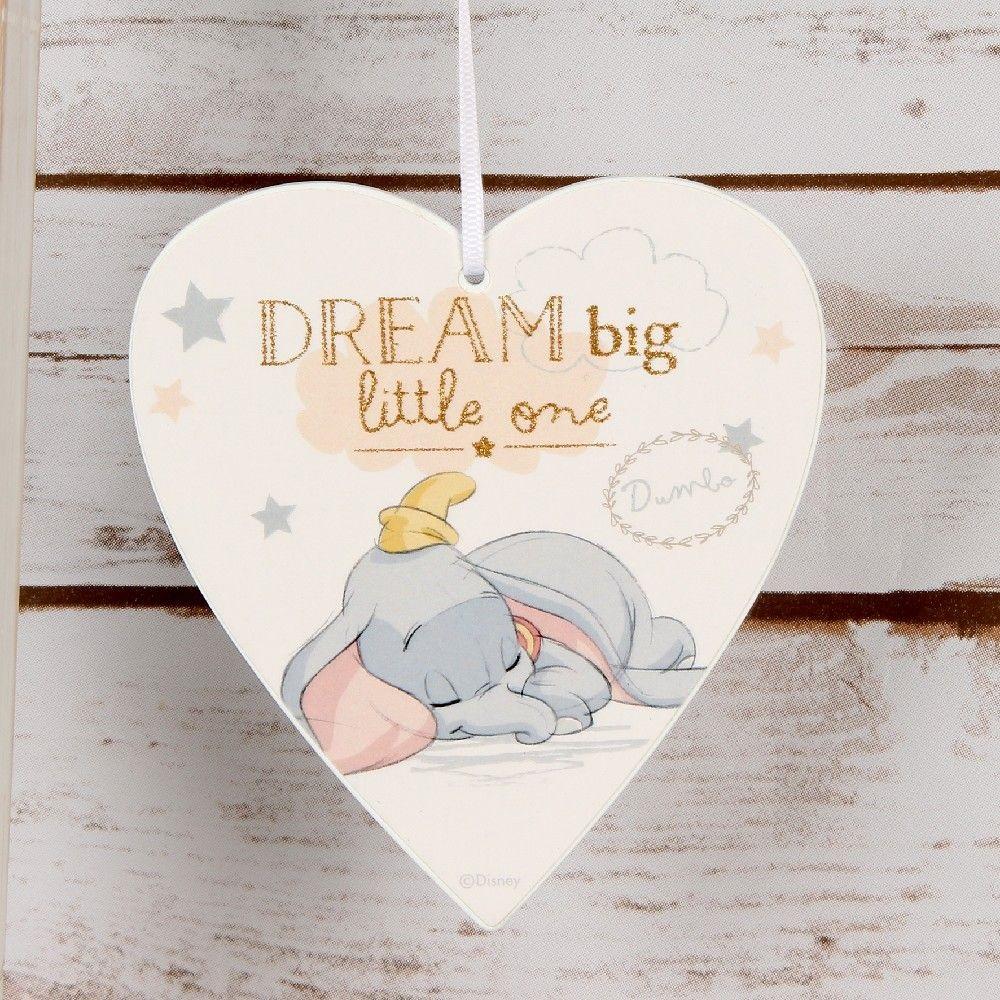 Plaque de porte de chambre Dumbo