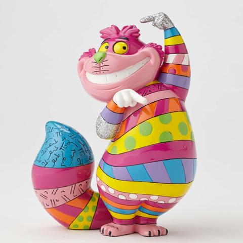 Britto - Cheshire Cat Alice au pays des merveilles
