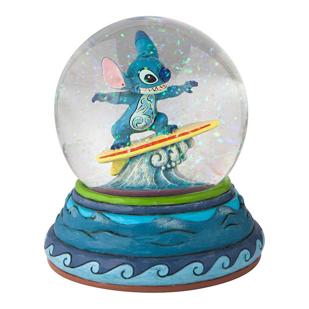 Disney Traditions Boule à Neige Stitch Surf