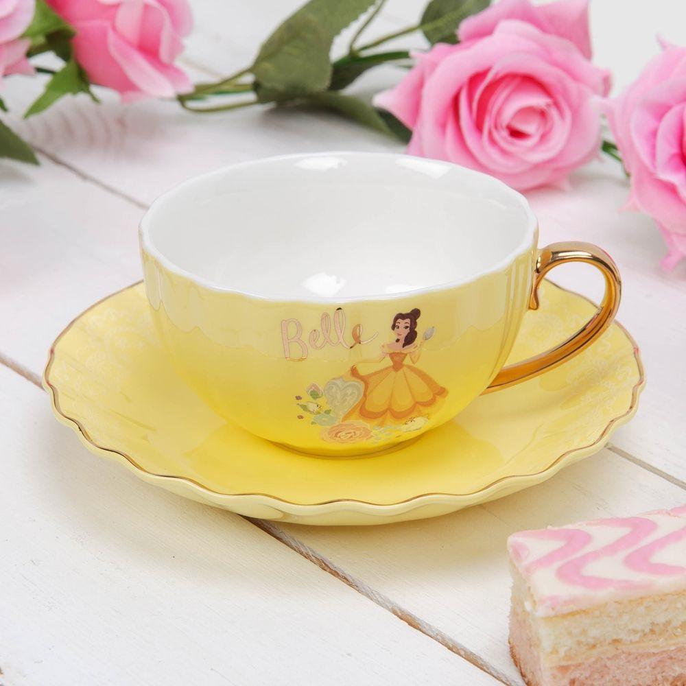 Tasse + Sous-tasse Belle