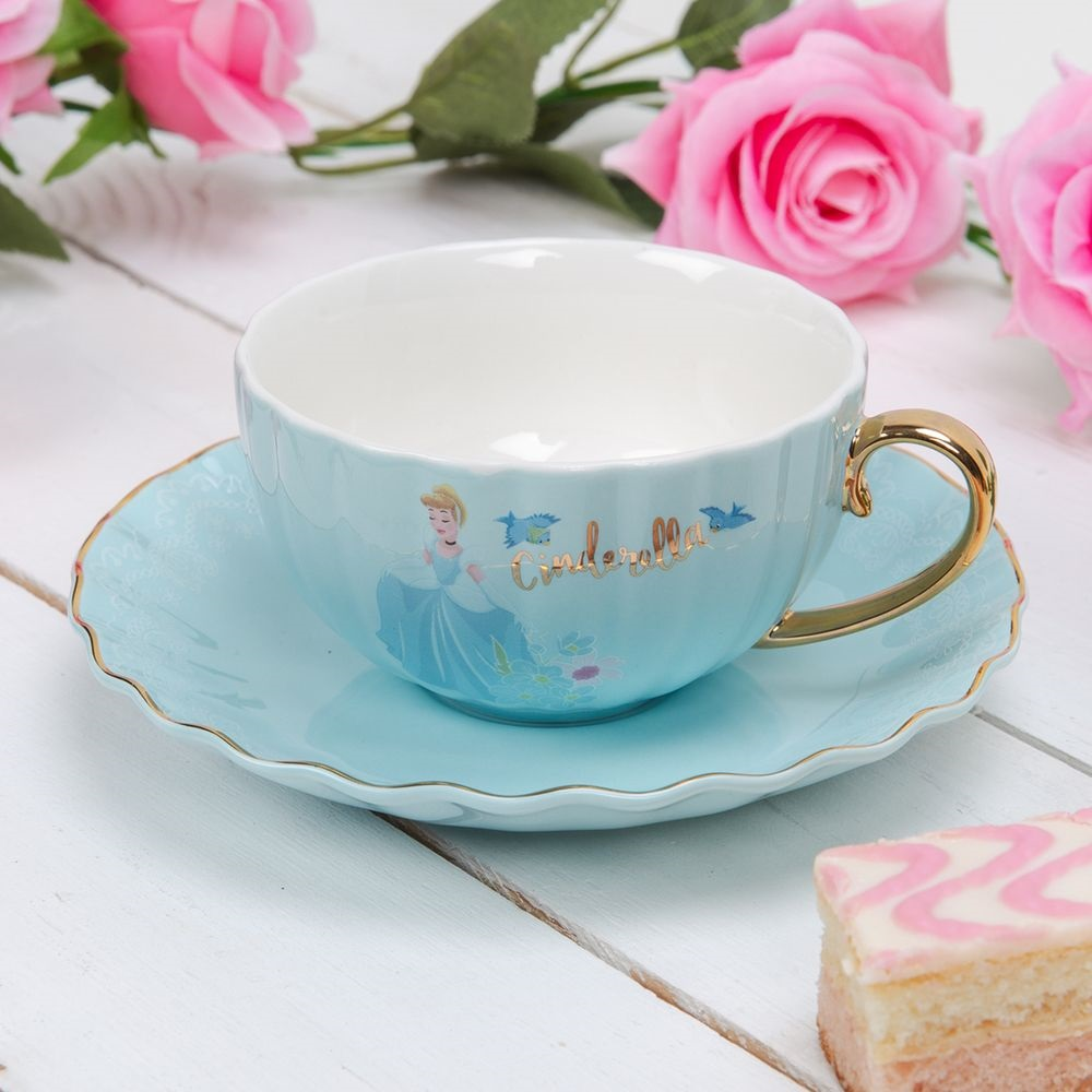 Tasse + Sous-tasse Cendrillon