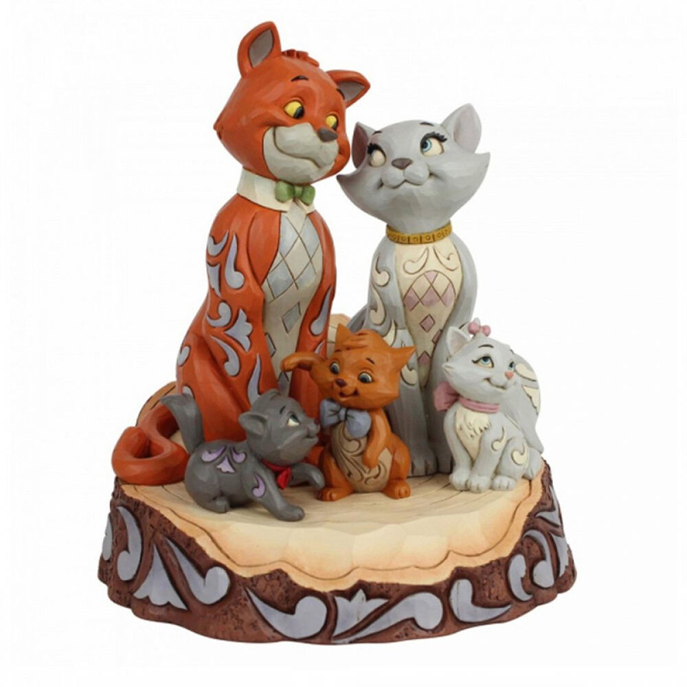 Disney Traditions Les Aristochats Woodcarved