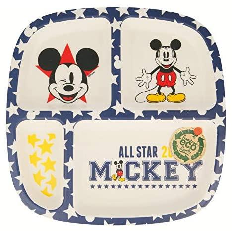 Assiette compartimentée Mickey