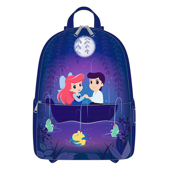 Disney - Sac à Dos La Petite Sirène Scène de la Gondole