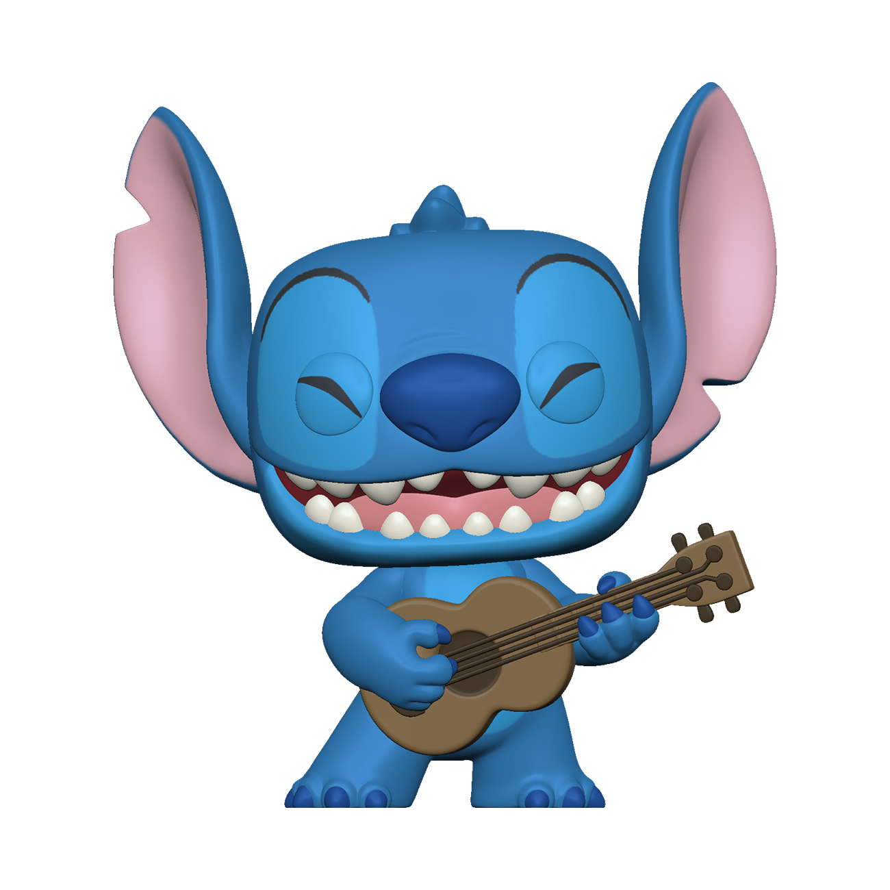 Pré-Co - Disney - Funko Pop Stitch avec son Ukulele