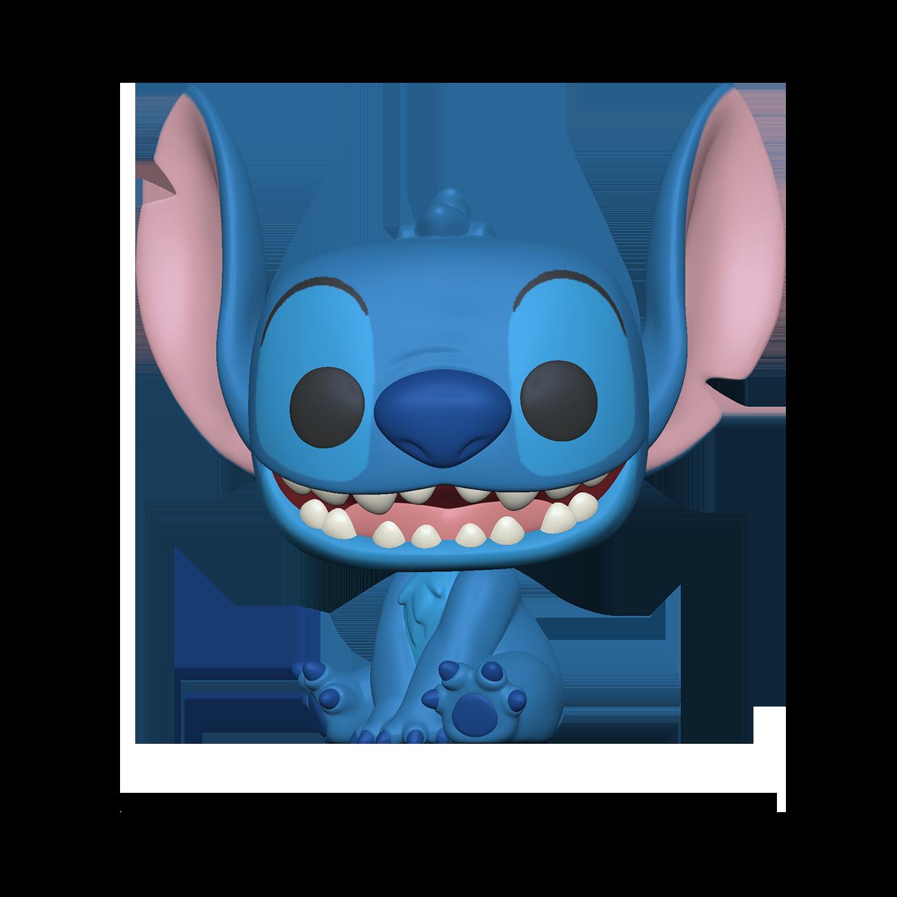 Pré-Co - Disney - Funko Pop Stitch sourit assis