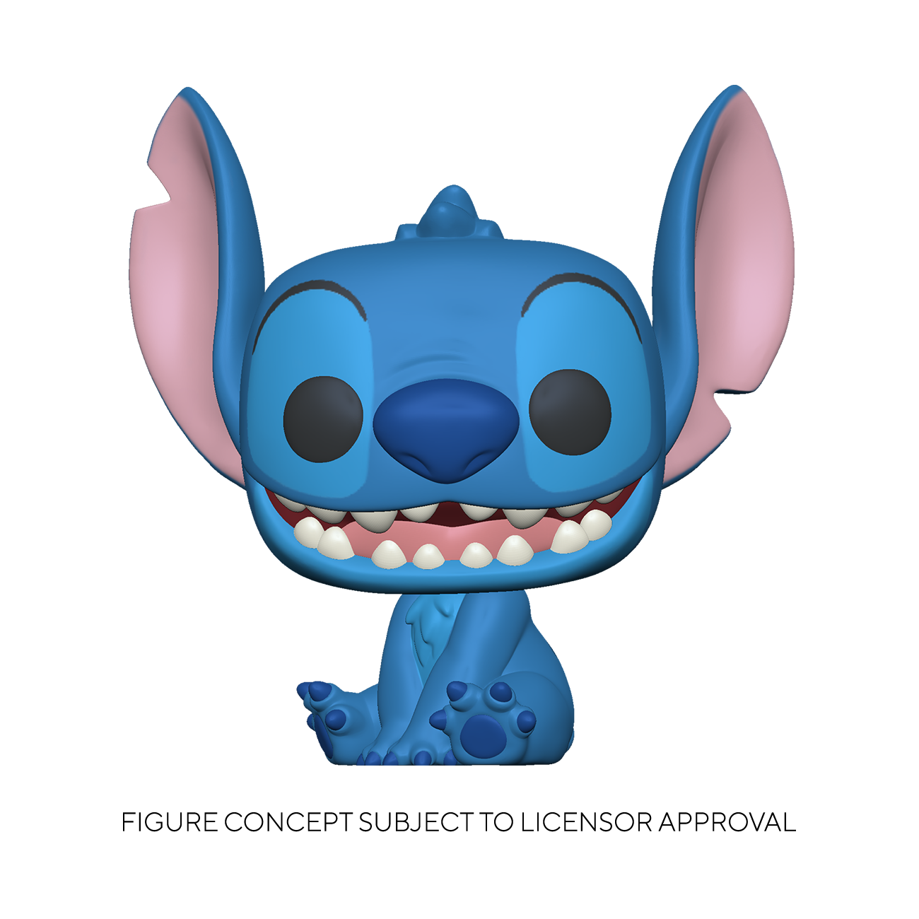 Disney - Funko Pop Jumbo Grand Stitch assis 25cm