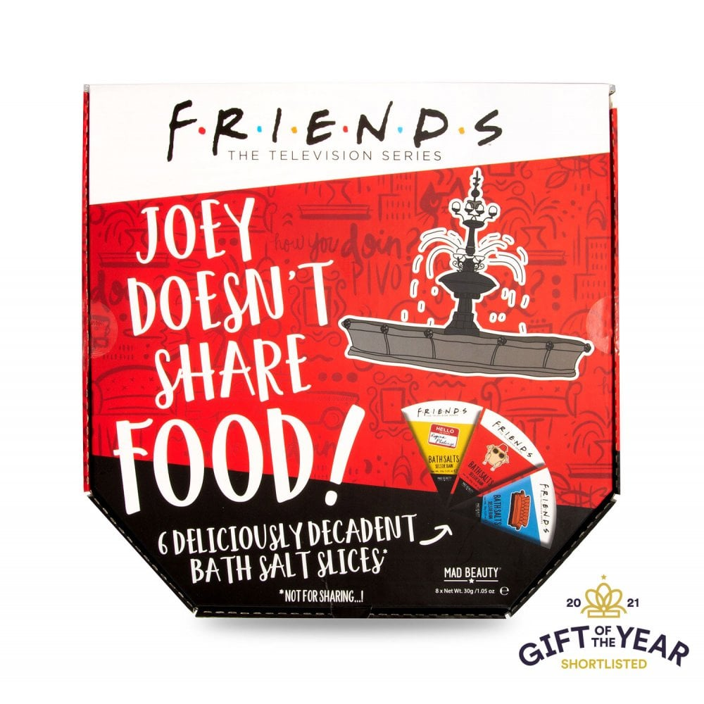 Friends - Sel de Bain Boite à Pizza