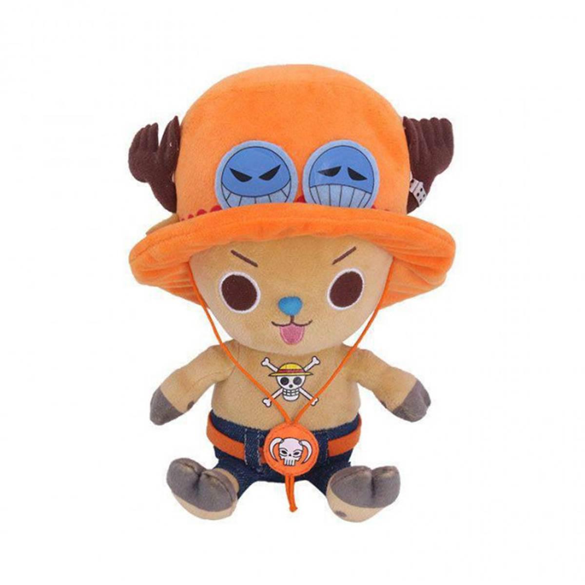 One Piece - Peluche Chopper Ace 20cm
