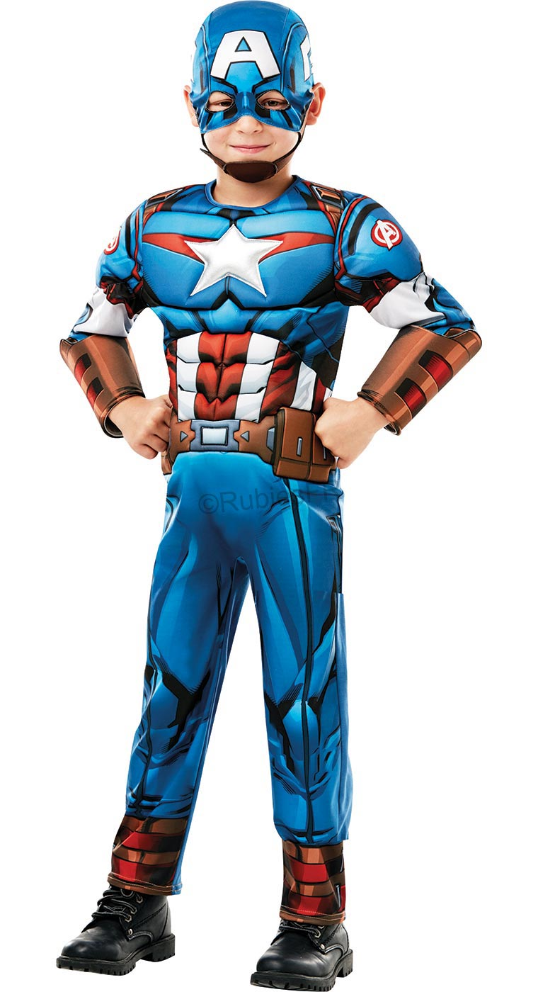 Marvel - Déguisement Captain America