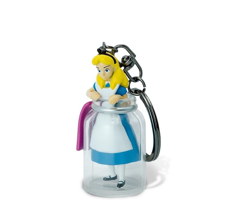 Disney - Porte clé 3D Alice au pays des merveilles