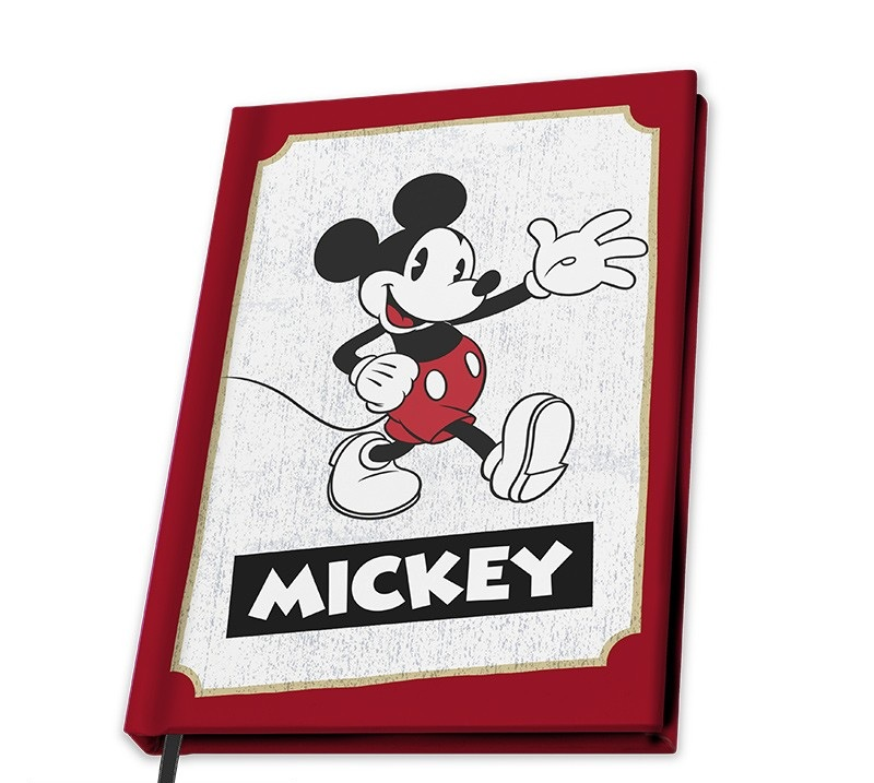Disney - Cahier A5 Mickey Mouse