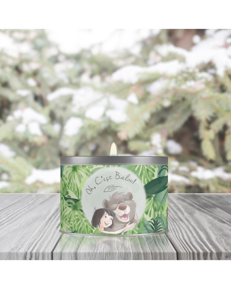 Bougie Métal Parfumée Végétale - Oh c\'est Baloo