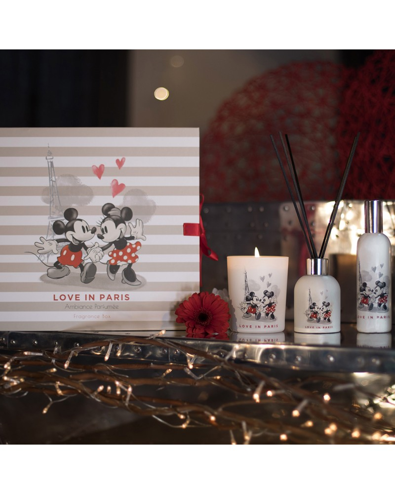 Coffret Ambiance parfumée Disney Love in Paris