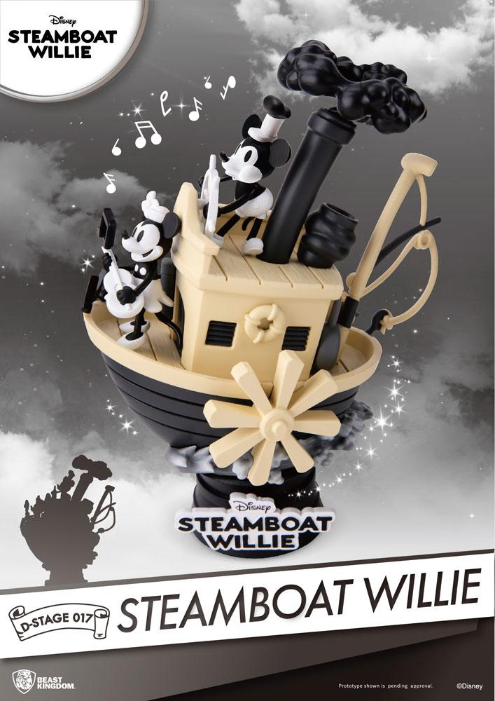 Disney - D-Select Mickey Steamboat willie