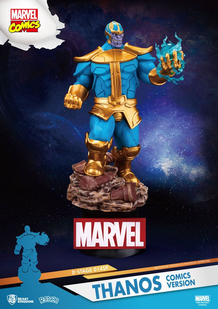 Marvel - D-Select Thanos Comic