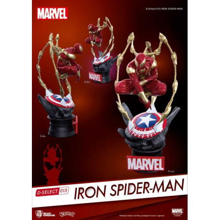 Marvel - D-Select Iron Spider Man