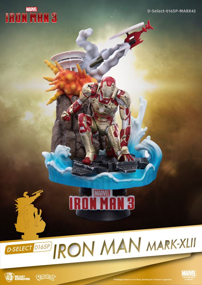 Marvel - D-Select Iron Man